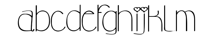 My princess likes a frog Font LOWERCASE