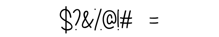 MyDecember Font OTHER CHARS