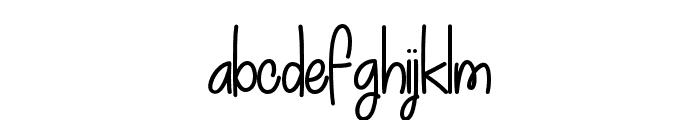 MyDecember Font LOWERCASE