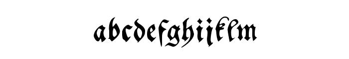 MyElectronicSchwabach Font LOWERCASE