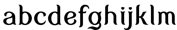 MyFairCody Font LOWERCASE