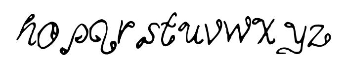 MyMineMai Font LOWERCASE