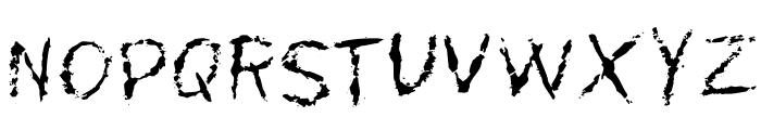MyScarsOT Font UPPERCASE