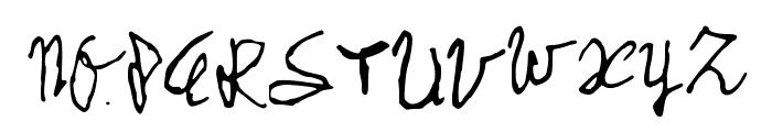 MySchoolHandwriting Font UPPERCASE