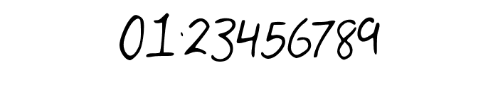 My_Handwriting Font OTHER CHARS