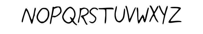 My_Handwriting Font UPPERCASE