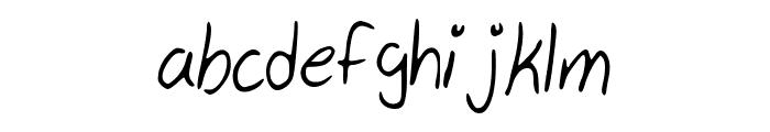 My_Handwriting Font LOWERCASE