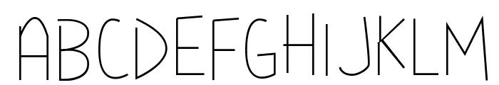 Mya Papaya Font UPPERCASE
