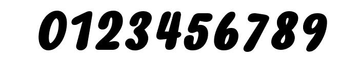 Myfrida Bold Italic Font OTHER CHARS
