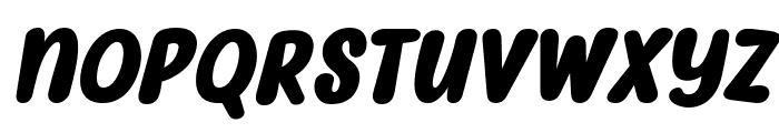 Myfrida Bold Italic Font LOWERCASE