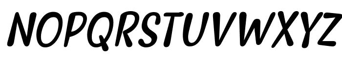 Myfrida Italic Font UPPERCASE