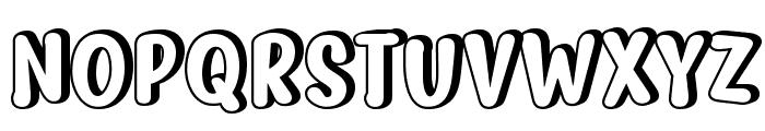 Myfrida Shadow Font UPPERCASE