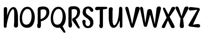 Myfrida Font LOWERCASE