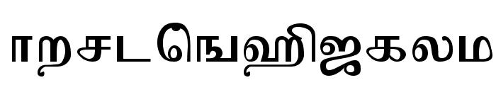 Mylai-Sri Regular Font LOWERCASE