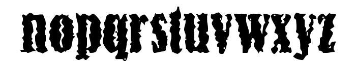 Myopia Font LOWERCASE