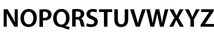 Myriad Apple Bold Font UPPERCASE