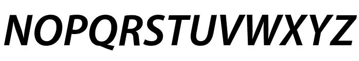 Myriad Apple BoldItalic Font UPPERCASE