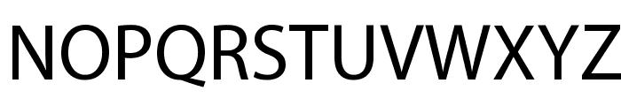 Myriad Apple Medium Font UPPERCASE