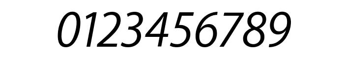 Myriad Apple TextItalic Font OTHER CHARS