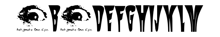 Mysterio SWTrial Font UPPERCASE
