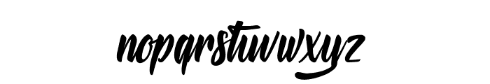 Mysterious Lovers Font LOWERCASE