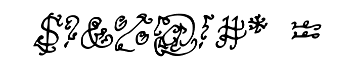 MysteriousOrientalNightsofPassion Font OTHER CHARS