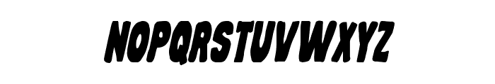 Mystery Mobile Condensed Italic Font LOWERCASE