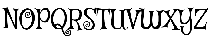 Mystery Quest Font UPPERCASE