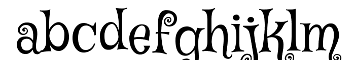 Mystery Quest Font LOWERCASE