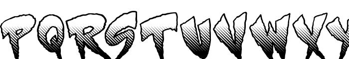 Mystery Font UPPERCASE