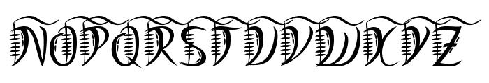 Mystic-Arm Font UPPERCASE