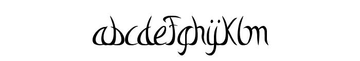 Mystic-Arm Font LOWERCASE