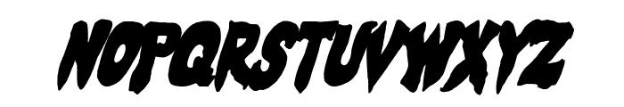 Mystic Singler CondItalic Font LOWERCASE