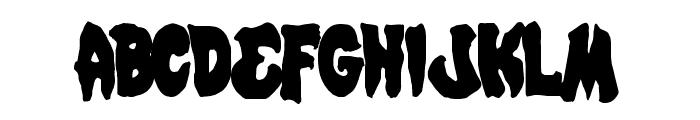 Mystic Singler Condensed Font UPPERCASE
