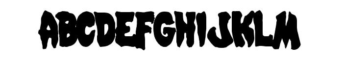 Mystic Singler Condensed Font LOWERCASE