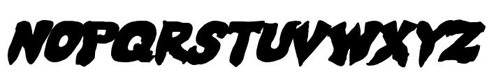Mystic Singler ExpItalic Font LOWERCASE