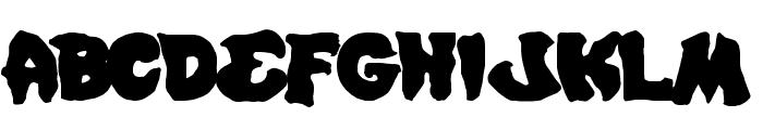 Mystic Singler Expanded Font UPPERCASE
