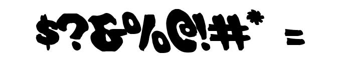 Mystic Singler Leftalic Font OTHER CHARS