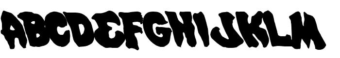Mystic Singler Leftalic Font UPPERCASE