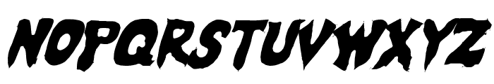 Mystic Singler Light Italic Font LOWERCASE