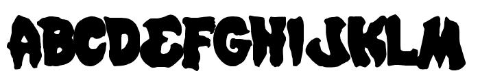 Mystic Singler Font UPPERCASE