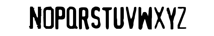MythBusters Font LOWERCASE