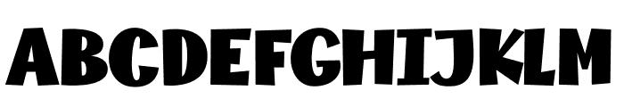MythicalGarden-Fat Font UPPERCASE