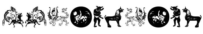 Mythological Font OTHER CHARS