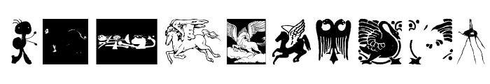 MythologicalFantasy Font OTHER CHARS