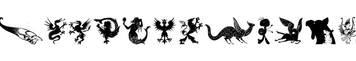 MythologicalFantasy Font UPPERCASE