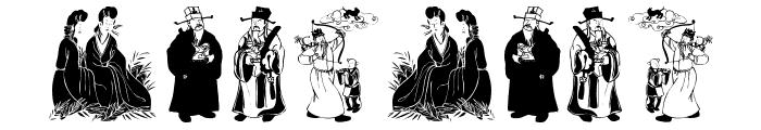 MythosChina Font OTHER CHARS