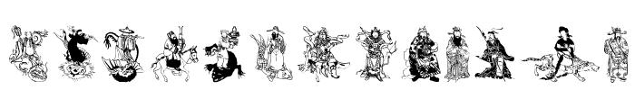 MythosChina Font LOWERCASE