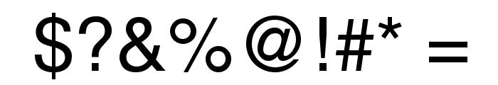 Mytupi Font OTHER CHARS