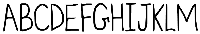 my font isnt funky enough Font UPPERCASE